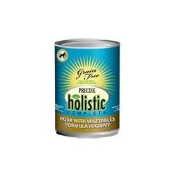 Precise Holistic Complete Grain Free Pork with Vegetables Formula Canned Dog Food (13.2oz (12 in case))