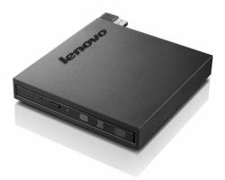 Lenovo Tiny-in-One Super-Multi Burner DVDRW (R DL) / DVD-RAM Drive - External, Black (4XA0H03972)