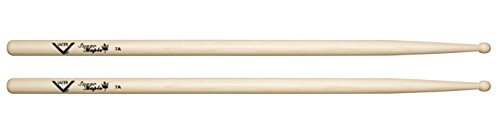 - Vater 7A Wood Tip Sugar Maple Drum Sticks, Pair