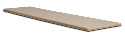 S.R. Smith 66-209-270S10T Fibre-Dive Replacement Diving Board with Matching Tread, 10-Feet, Taupe - Smith Stand Flyte Deck