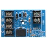 ALTRONIX RBUL Relay Module - 12VDC or 24VDC operation, 30mA current draw, SPDT contact rated @ 1 amp/28VDC, Includes Snap Track, UL Listed Burglary (U