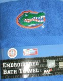 Florida Gator Embroidered Bath Towel