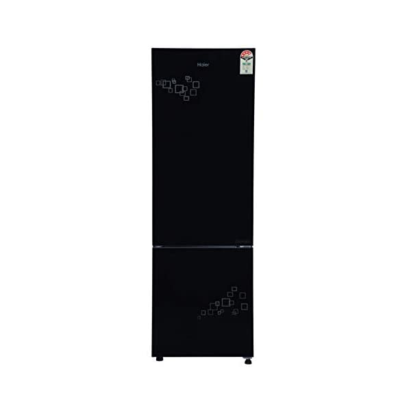 Haier 276 L 3 Star Inverter Frost-Free Double Door Refrigerator (HRB-2964PMG-E, Silver) 2021 July Frost-free Double door refrigerator with Twin Inverter Technology-ensures that the compressor & fan can run at different speeds Capacity: 276 litres suitable for a medium sized family Energy rating: 3 star, Annual energy consumption: 184 per year