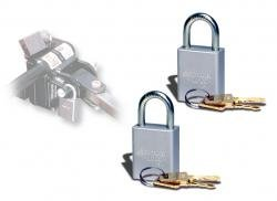 (Roadmaster 302 Quick Disconnect Padlock, (Pack of 2))