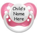 Personalized Pacifiers - Pink **Emily**