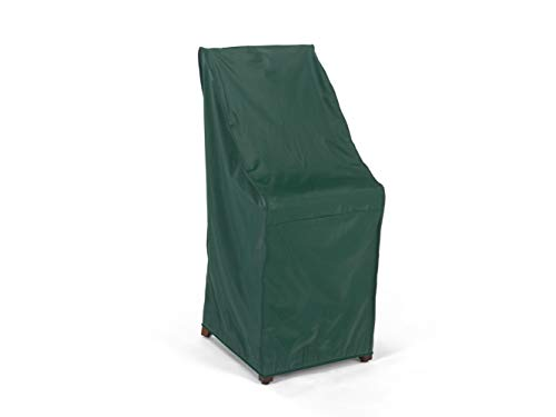 Covermates - Stacking Chair Cover - 28W x 34D x 52H - Classic Collection - 2 YR Warranty - Year Around Protection - Green (Patio Chairs Stackable Resin)