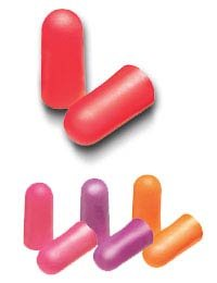 3M Single Use Peltor NEXT Nitro Tapered Multi-Color Foam Corded Earplugs