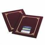 geographics Certificate/Document Cover, 12 1/2 x 9 3/4, Burgundy, 6/Pack by Geographics