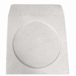 Tyvek Cd / Dvd Storage - 100 Tyvek CD/DVD Sleeves with Window & Flap
