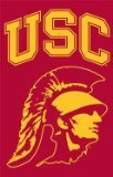 Party Animal Sports Fan NCAA Team USC Trojans Applique Banner Flag Trojan Head design (Ncaa Embroidery Designs compare prices)