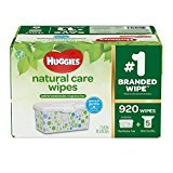 Huggies Natural Care Baby Wipe Refill, Unscented (920 Count) ()
