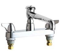 Chicago Faucets 1100-L5VBCP Service Sink Faucet - Chicago Faucets Sink Faucet