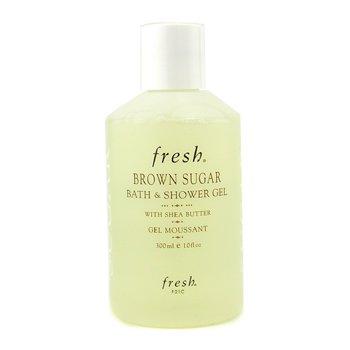 Fresh Bath & Shower Gel - Brown Sugar 10oz (300ml)