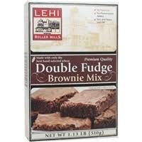 Lehi Roller Mills, Double Fudge Brownie Mix, Double Fudge (Pack of 10) by Generic (Image #1)