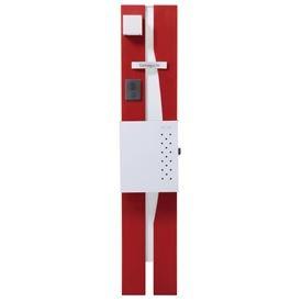 オンリーワン ウェルカムピラー機能門柱 モードBtype 天然木仕様 K22型 KE1-K22RW 【機能門柱 機能ポール】 B00AE25KUO