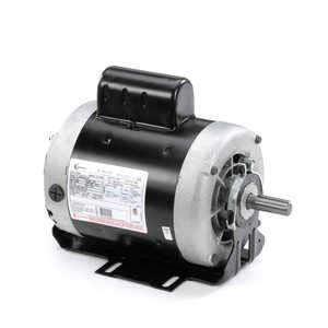 - 1 hp 1725 RPM 56 Frame 115/208-230V 60 hz Belt Drive Cap Start Blower Motor Century # C524