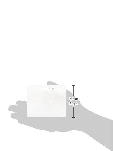 AmazonBasics Clear Badge Holder - Horizontal (Pack of 50) Photo #2