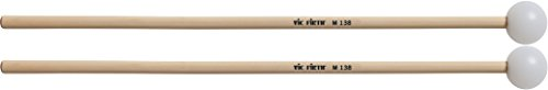 Vic Firth M138 Orchestral Series Medium Poly Xylophone Mallets from Vic Firth