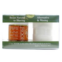 Moom Beauty Products Nourishing Hair Removal Introductory Kit