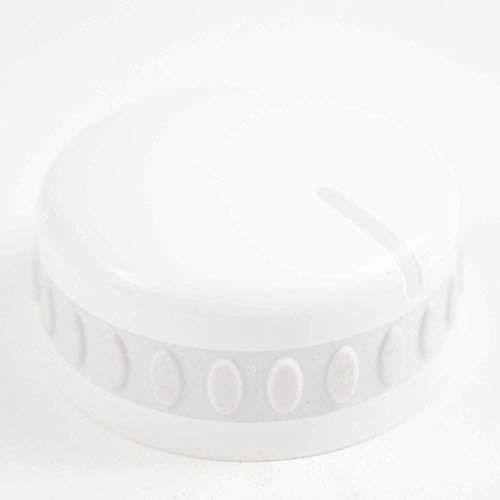 154535901 Dishwasher Timer Knob Genuine Original Equipment Manufacturer (OEM) Part White