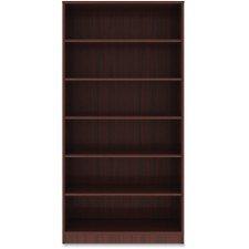 - Lorell 6 Shelf Bookcase in Mahogany
