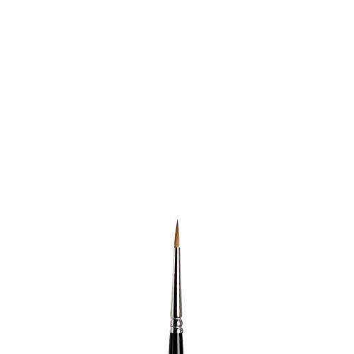 Winsor & Newton Series 7 Kolinsky Sable Watercolor Brush - Round #1 (5007001) -