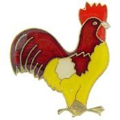 metal-lapel-pins-animal-bird-pins-red-and-gold-rooster