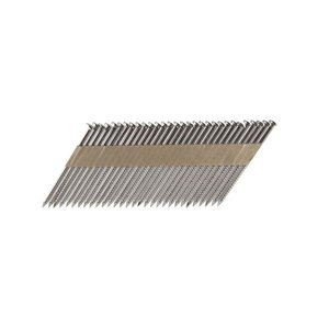 B&C Eagle 238X113RSS/33 Offset Round Head 2-3/8-Inch x .113 x 33 Degree S304 Stainless Steel Ring Shank Paper Tape Collated Framing Nails (1,000 per box)