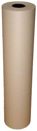 Newsprint Grade Paper, 30 lb., 48 In. W by GRAINGER APPROVED