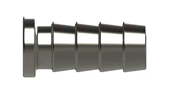 Replaces A-LOK Part # SCM6-316 Union 316SS 6MM RADWELL VERIFIED SUBSTITUTE SCM6-316-SUB Double Ferrule Tube OD