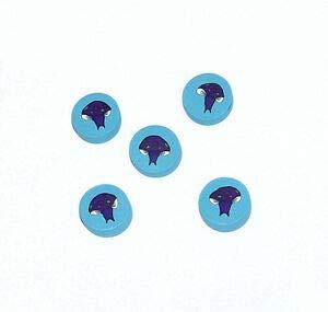 Mushroom Polymer Clay millefiori Beads Crafting Key Chain Bracelet Necklace Jewelry Accessories Pendants ()