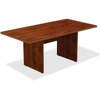 Cherry Laminate Finish - Lorell Chateau Conference Table - Edge, Top, 72