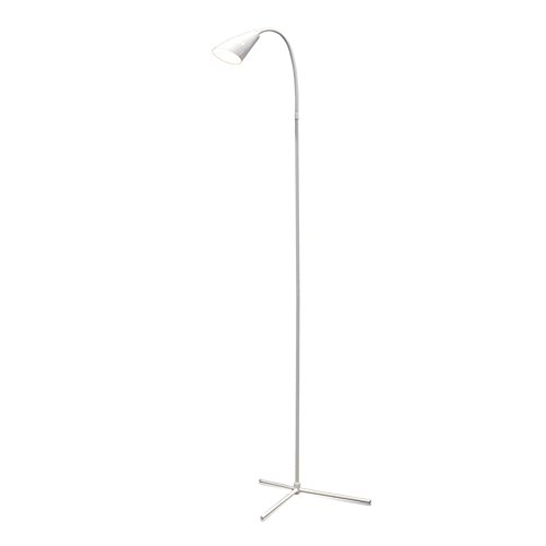 Floor Lamps,EBEST Dimmable LED Reading Lamp for Living Room,Torchiere Floor Lamp,Modern Tall Standing Pole Uplight Light for Living Room, Dorm, Bedroom, Office, and Reading, Eye Protective (White)