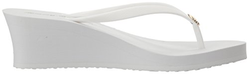 White Bahama Tommy Flip Whykiki Wedge Solid Women's Flop AwwqRxT