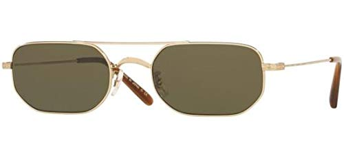 Oliver Peoples Eyewear Women's Indio Sunglasses, Soft Gold/G-15, One ()