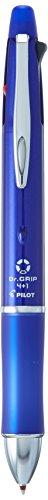 - Pilot Dr. Grip 4+1, 4 Color 0.7 mm Ballpoint Multi Pen & 0.5 mm Mechanical Pencil - Blue Body (BKHDF1SFN-L)