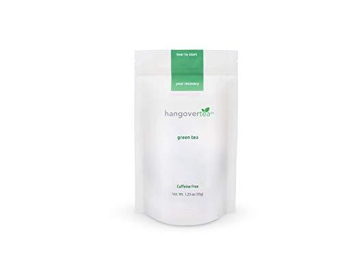HangoverTea All Natural Hangover Cure - Herbal Green Tea (1.23 ounces) (Best Tea For Hangover)
