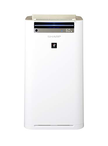 SHARP 2X1 Air Purifier + Humidifier | Patent Plasmacluster Technology | Allergy UK Seal of Approval | 50m2 | Model: KC…