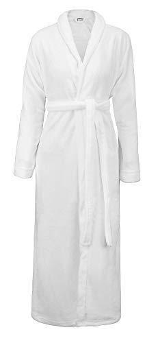 - Simplicity Kimono Robe for Women and Men Spa Bath Robe Bathrobe in Plush, White