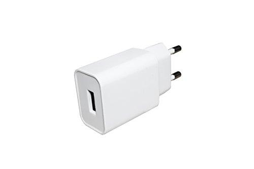 CARICATORE ALIMENTATORE USB CASA CON CAVO DATI IPHONE 5 6 1.5A OZ-042 DR