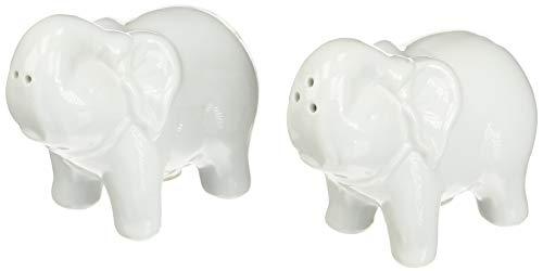 (White Elephant Salt and Pepper Shakers Set)