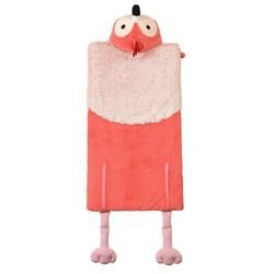 Women Owned Kids' Flamingo Animal Sleeping Bag - Pink by Women Owned