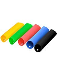 (MtShell Garlic Peeler, 5 Pcs Silicone Garlic Roller Peeling Tube, Easy Useful Kitchen Tools (Red, Yellow, Green, Blue, Black))