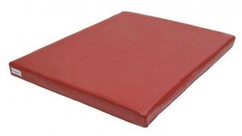 Orthopädische Hundematte Visko Style 80x100x7cm - Kunstleder rot
