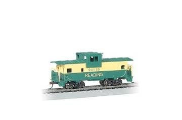 36' Wide Vision Caboose Reading HO Bachmann Trains