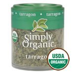 Simply Organic Organic Mini Tarragon Leaf - 0.11 oz - 0.11 Ounce Mini