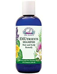Montana Emu Ranch - EMUtrients Shampoo 8 Ounce Bottle - Made with Pure Emu Oil