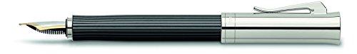 Graf von Faber-Castell Intuition Platino Wood Fountain Pen (Ebony) (Medium)