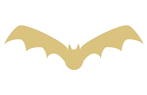 Bat Cutout Unfinished Wood Halloween Decor Zoo Animal Decorations Door Hanger MDF Shape Canvas Style 3 -