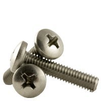 1/4''-28 x 1/2'' MACHINE SCREWS PHILIPS PAN HEAD FINE STAIN A2 (18-8), Full Thread, Size: 1/4''-28, Length: 1/2'', Head: Pan, stainless_steel_18-8, Thread Type: UNF (Inch) (Quantity: 500)